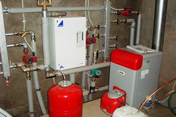Экономичное отопление частного дома газом